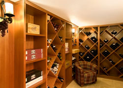 Close up of wine Cellar